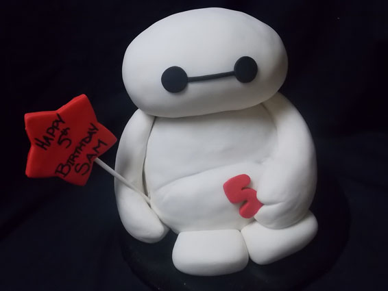 Big Hero 6 themed custom cake