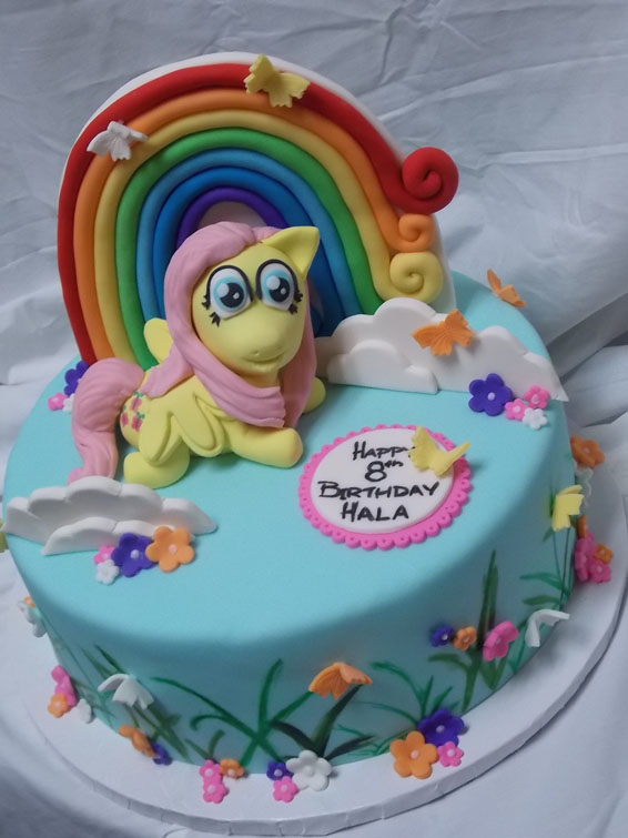 My Little Pony - Shutterfly custom order cake
