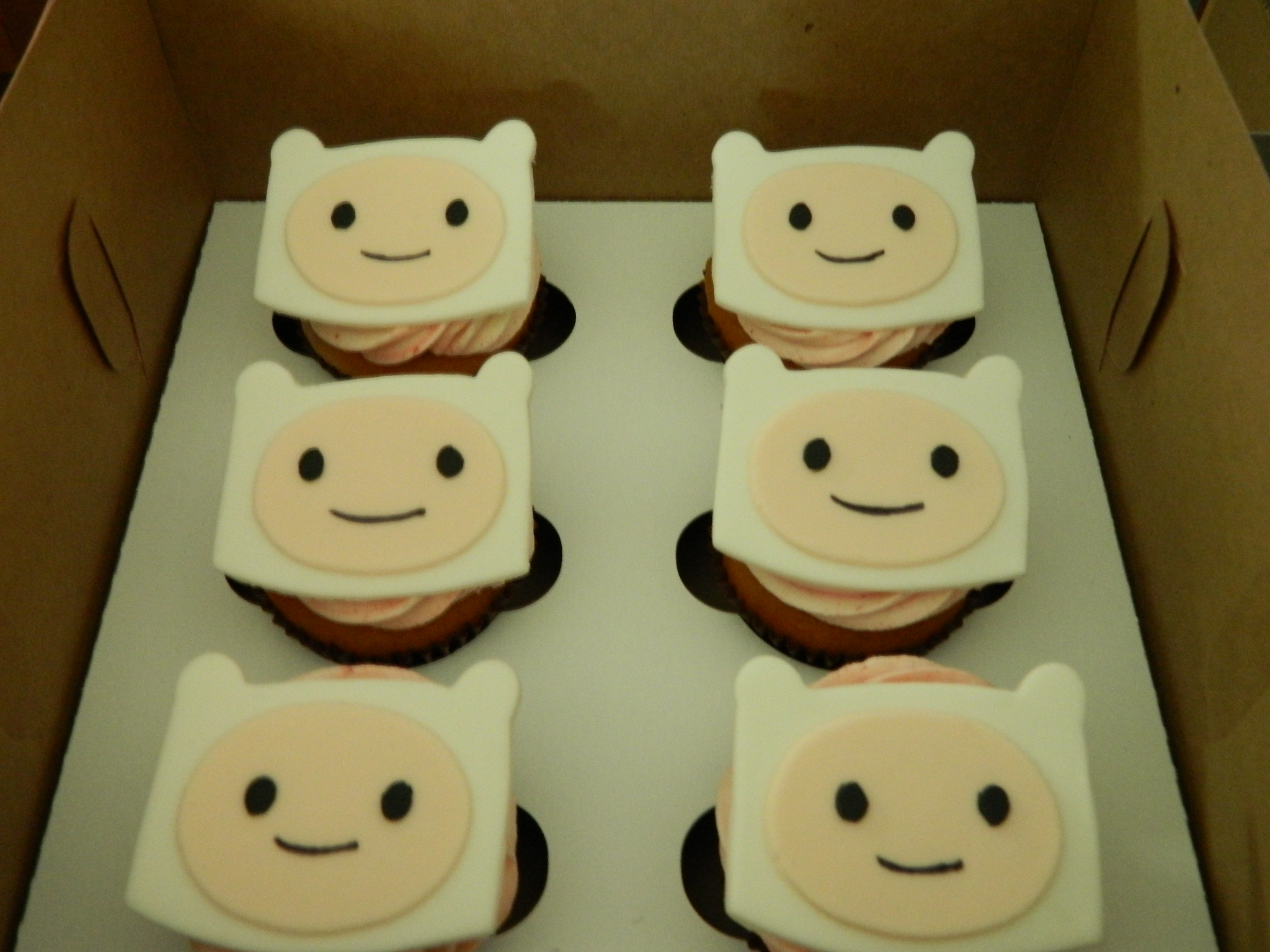 Adventure Time (Liam) themed custom cupcakes