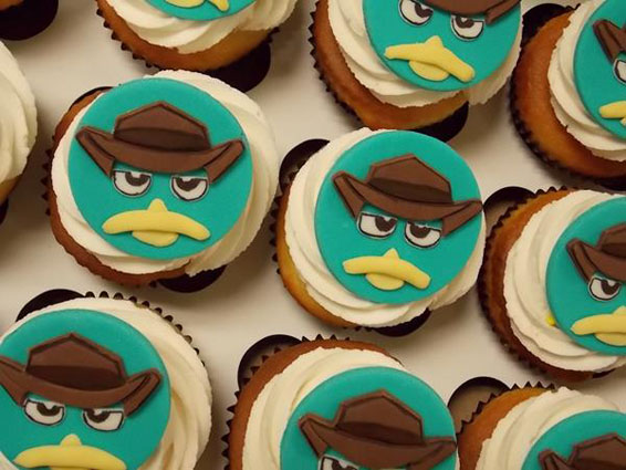 Perry Cupcake Toppers