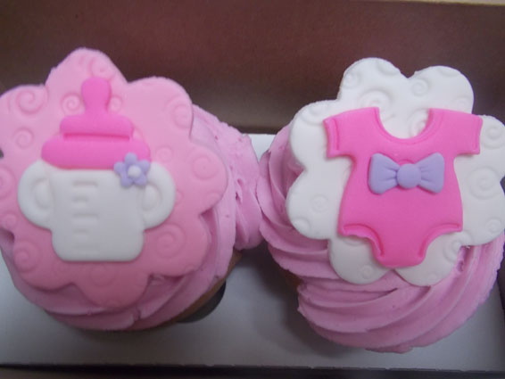 Girl Baby Shower Cupcakes Hey Cupcake