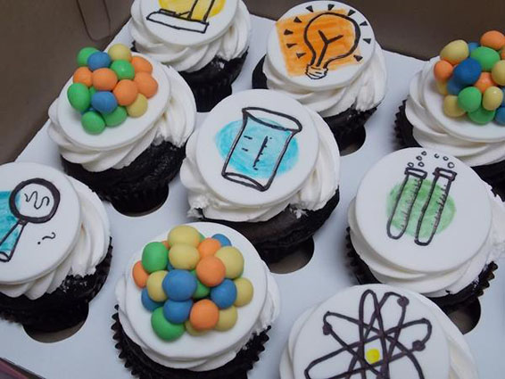 Mad Scientist Cupcake Toppers
