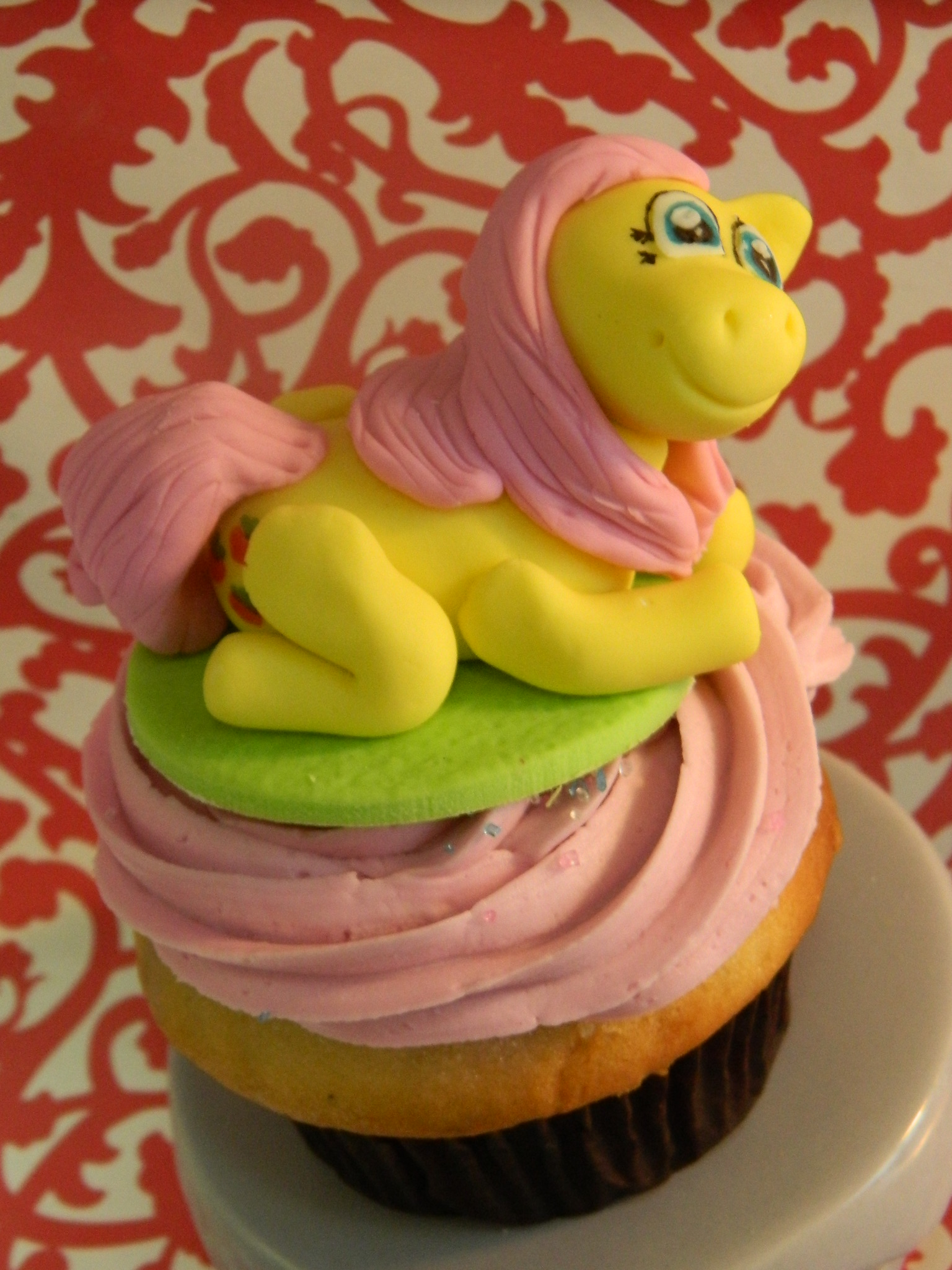 My little pony custom cupcake